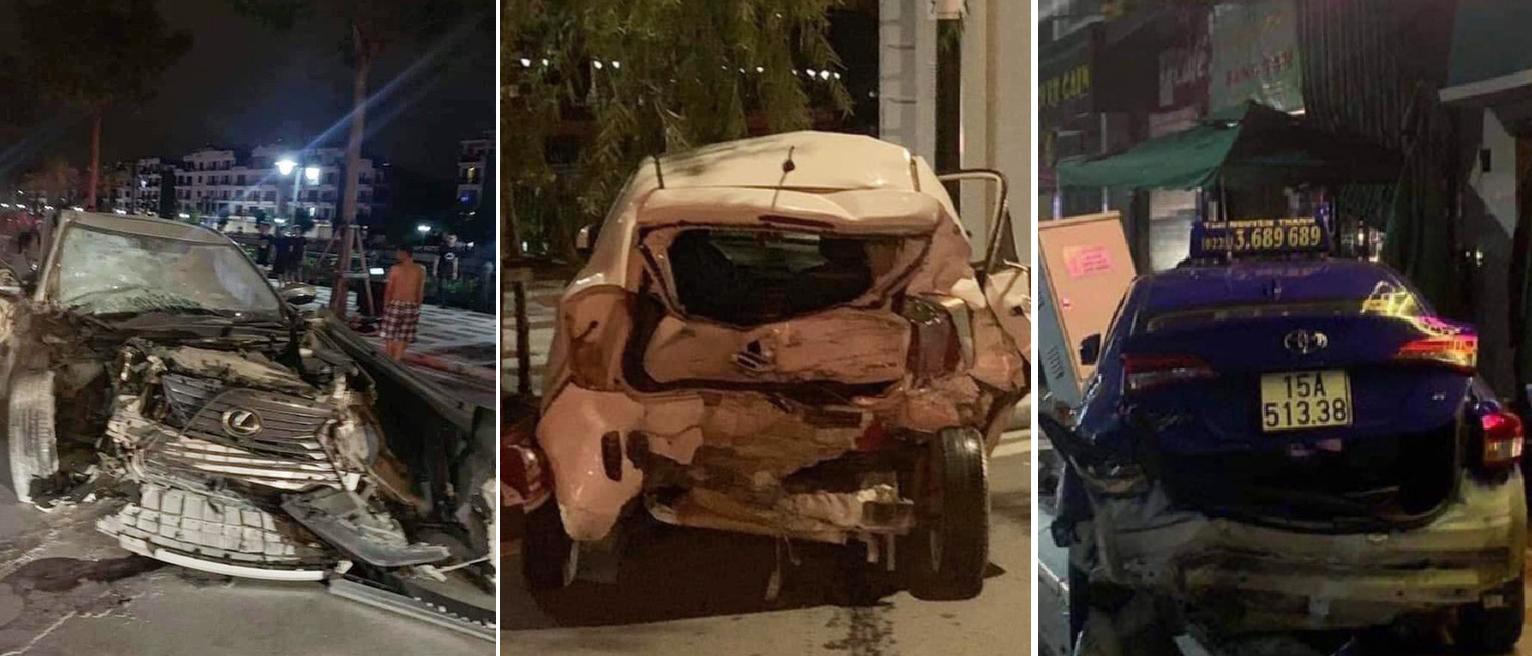 Khởi tố thiếu gia ngành thép lái Lexus đâm chết công an, phá hư hàng loạt phương tiện - ảnh 2