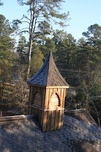 Photo: Cupola is 13 Feet High From Ridge To Top Of Weather Vane