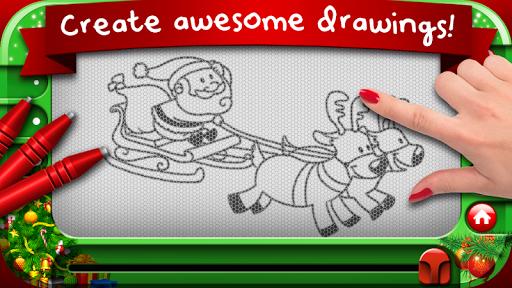 Christmas Magnetic Whiteboard
