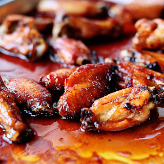 Oven Roasted Wings.