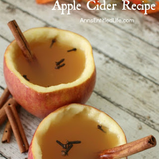Stovetop Spiced Apple Cider.