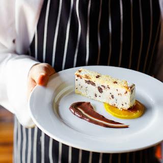 Panettone, Orange & Dark Chocolate Semifreddo.