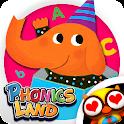 어린이 파닉스랜드 - 스마트파닉스와 종합 기초영어학습 icon