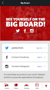Levi's Stadium App- screenshot thumbnail
