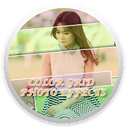 Color Grid Photo Effects
