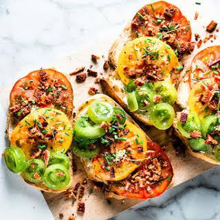 Heirloom Tomato Toast.