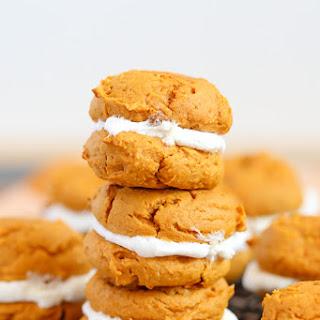 Pumpkin Cookie & Marshmallow Whoopie Pies Recipe