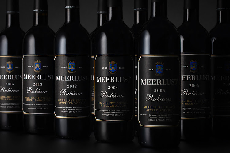 Meerlust Rubicon collection.