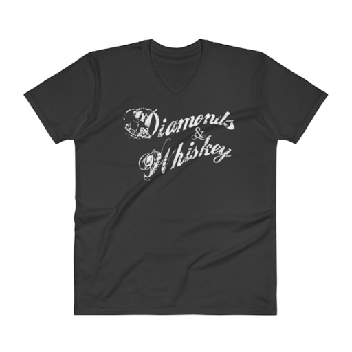 DW Mens V-Neck T-Shirt