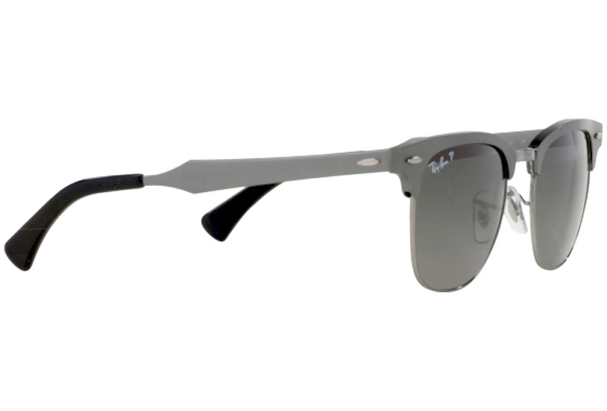 dd82495d5c Polarized Sunglasses Ray-Ban Clubmaster Aluminum RB3507 C51 138 M8