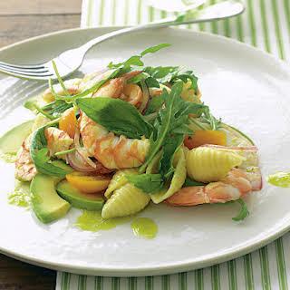 Prawn and Avocado Pasta Salad.