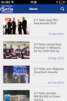 Screenshot of S P Setia