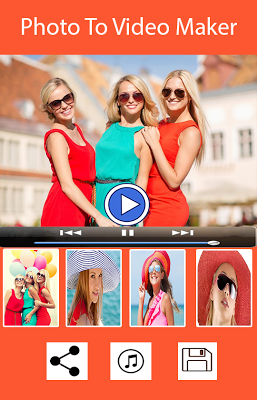 Photo Video Editor With Music! - screenshot