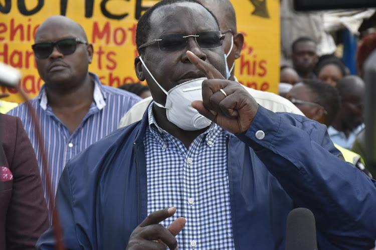 Kiambu Governor James Nyoro.