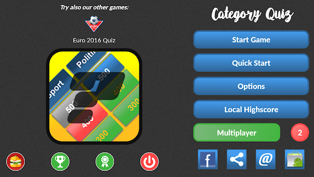 Category Quiz (Trivia)