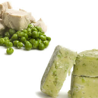 Chicken and Sweet Pea Baby Food.