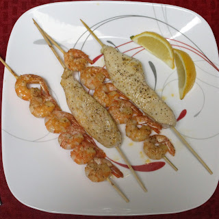 Garlic Chicken Breasts With Shrimp Recipes