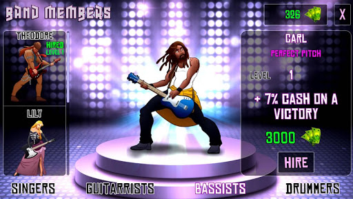 Rock Battle - Rhythm Music Game 1.18 Mod screenshots 3