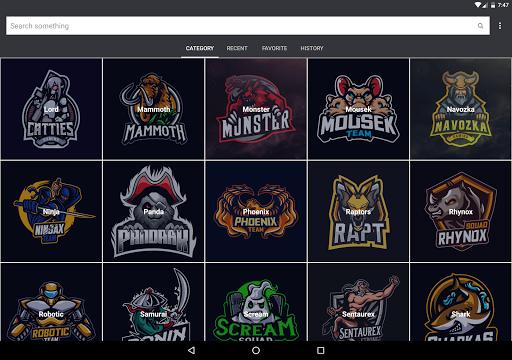 Gaming Logo Design Ideas eSport 2020 2.1 screenshots 11