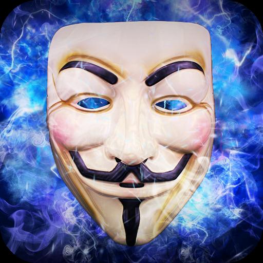 Anonymous Mask Camera Icon
