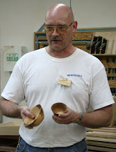 "Photo: Don Van Ryk - 4"" and 6"" apple bowls."