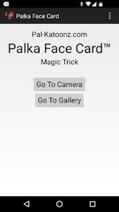 Palka Face Card Magic Trick - náhled