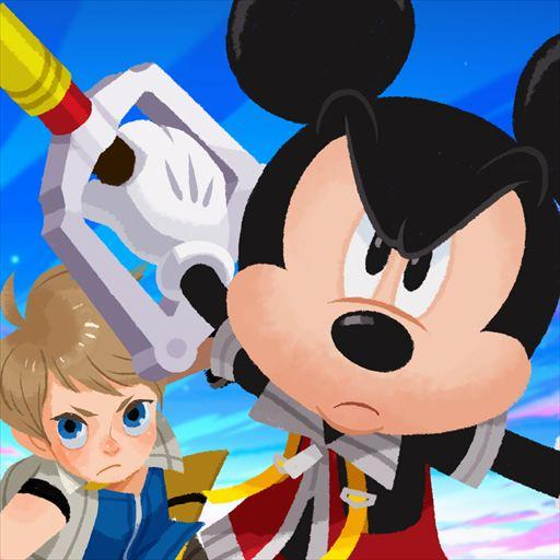 KINGDOM HEARTS Unchained χ 角色扮演 LOGO-玩APPs