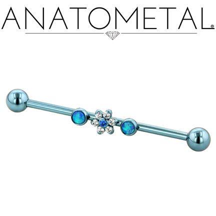 Stav i Titan 1,6mm, med 3 gängade hål för 1.2mm (16g) toppar