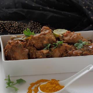 Chicken Masala Curry.