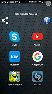 Application Launcher Free - náhled