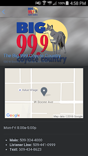 The Big 99.9 Coyote Country- screenshot thumbnail