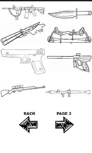 玩免費遊戲APP|下載How To Draw -Guns app不用錢|硬是要APP