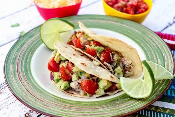 Healthy Chicken Tacos Recipe