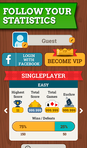 Euchre Free: Classic Card Games For Addict Players apkpoly screenshots 20