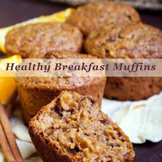 Healthy Breakfast Muffins.