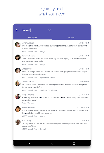 Microsoft Teams  screenshots 10