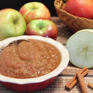 Homemade Applesauce.