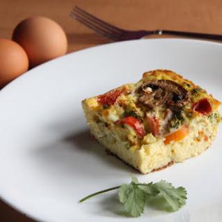 Low Calorie Egg Casserole.