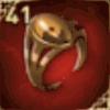 琥珀の指輪