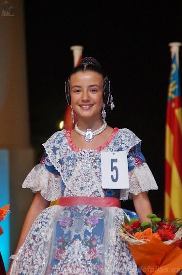 Lucia Guijarro Moreno. Corte de Honor Infantil 2019. Dr. Marañon - Mestre Palau.