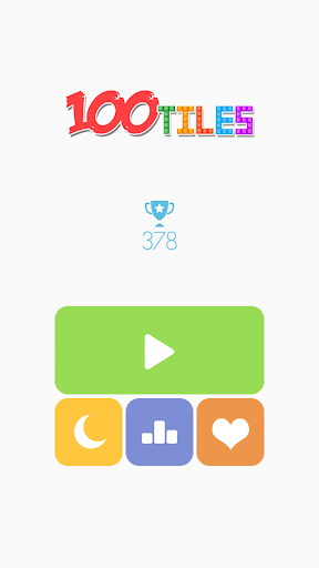 100 Tiles puzzle game