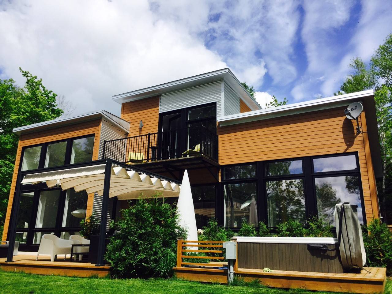 Cottages for rent near a ski mountain in Lanaudiere #13
