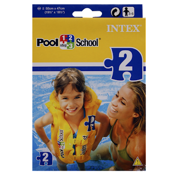 Chaleco Pool Intex School