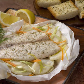 Baked Tilapia with Garlic Butter.