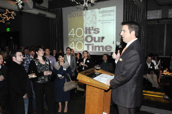 Photo: The Sacramento Business Journal honored its class of 40 Under 40 winners on Thursday night.