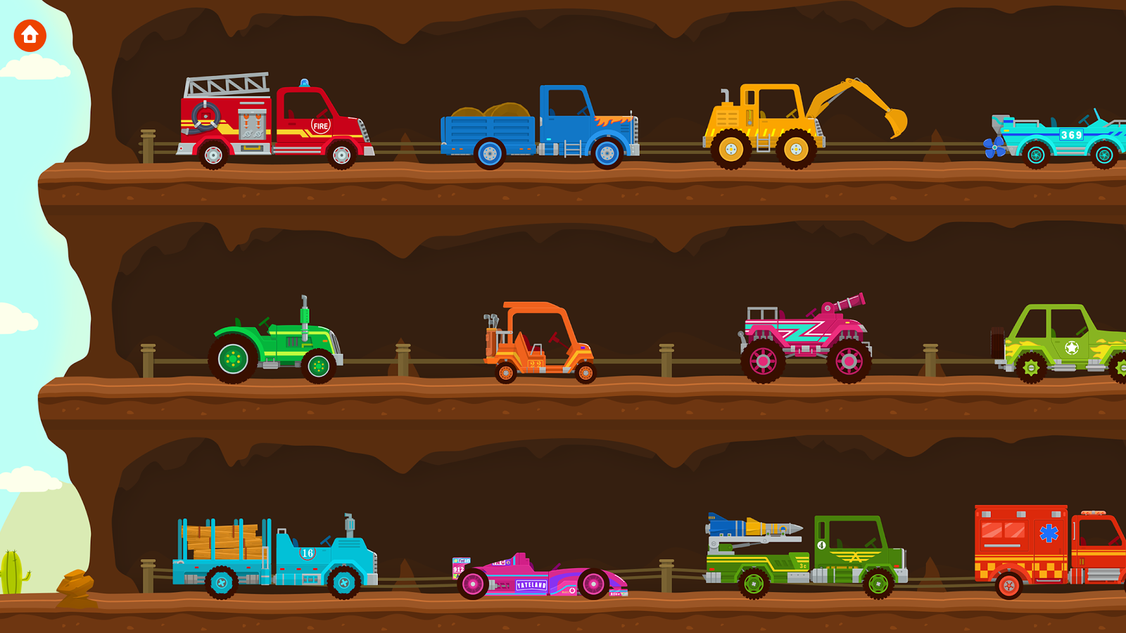Monster Truck Driver & Racing- screenshot