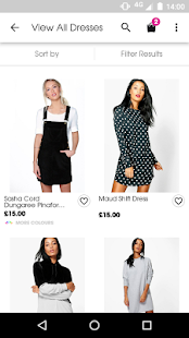 boohoo.com- screenshot thumbnail