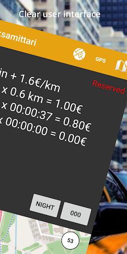 Taximeter & Working Hours Tracker : Cabidi screenshots 3