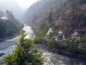 Photo: und die drei arten der hier zu findenden Stupas