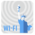 Free WiFi New York: WiFi map icon